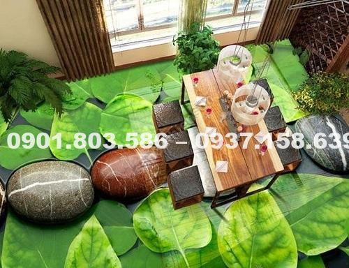 Giấy dán sàn nền nhà 3d là gì? 4
