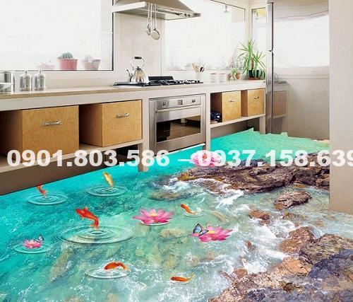 Sơn sàn nhà 3d tại Đà Nẵng chuyên nghiệp và uy tín 6