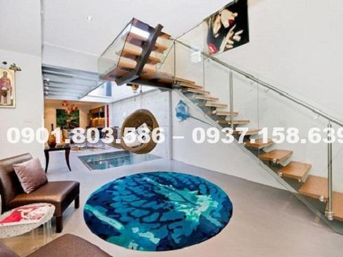 Tranh dán sàn nhà 3d có độ bền như sơn không? 3
