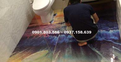 sơn sàn 3d