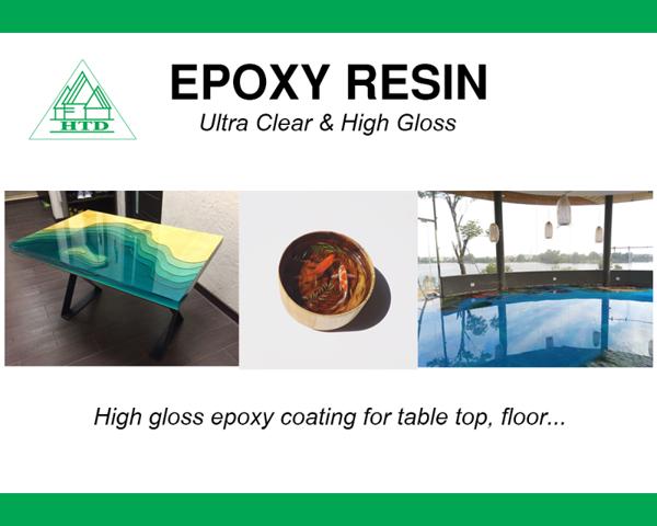 keo epoxy resin ultra clear là gì